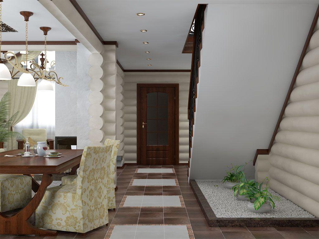 Двухэтажные дома дизайн внутри