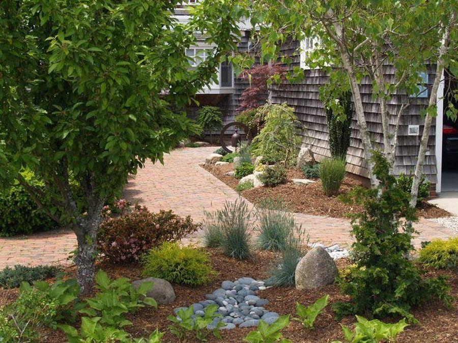 Ландшафтный дизайн сада своими руками смотреть фото