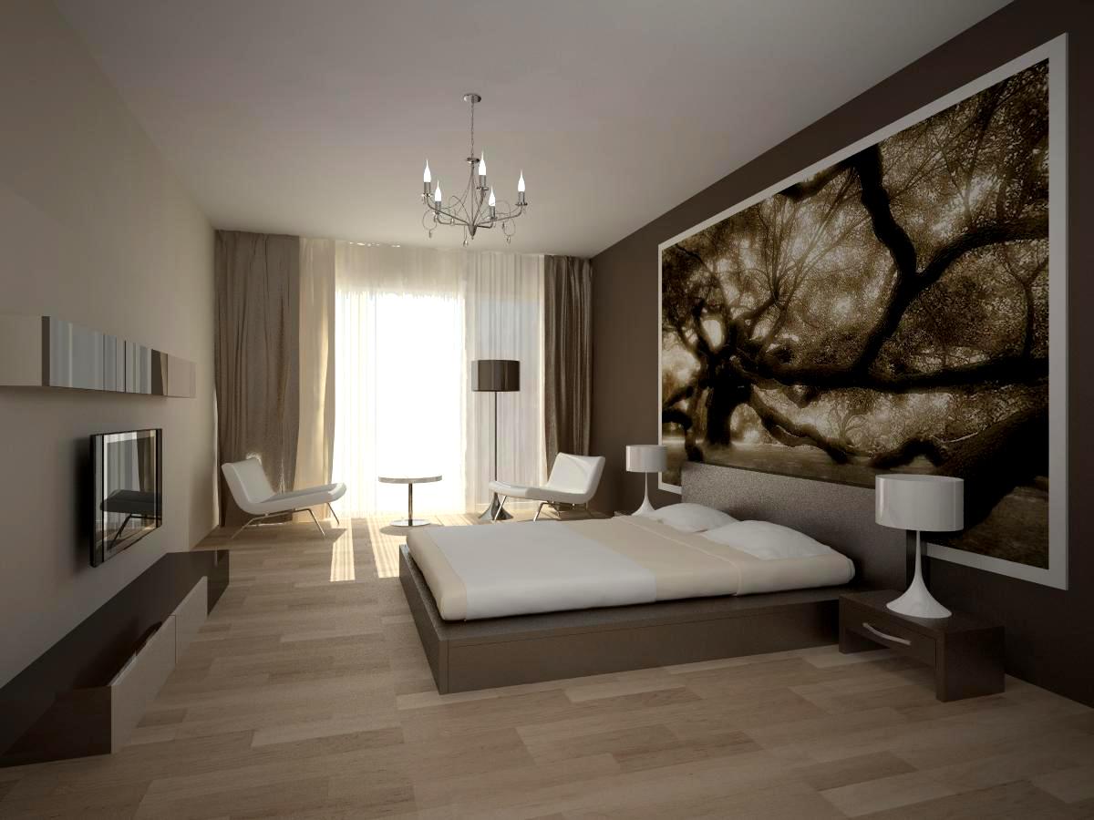 натяжной потолок в спальне дизайн фото