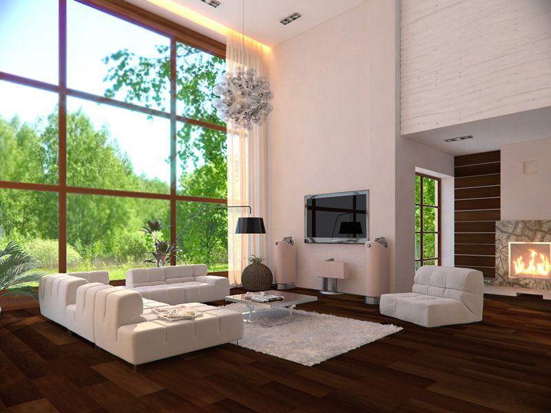 Дизайн комнаты света